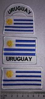 Bandera Bordada Uruguay.