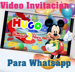 Tarjetas Para Cumpleanos Mickey En Mercado Libre Uruguay
