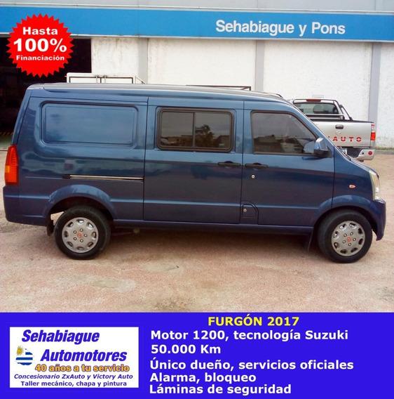 Camioneta Furgón Rural 2017 1200 5 Asientos Auto Financiados