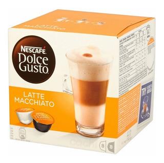 Dolce Gusto Nestle Latte Macchiato (8 De Cafe 8 De Leche)