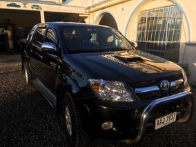 Toyota Hilux 3.0 Tdi Srv Cab Doble 4x2 Cuero