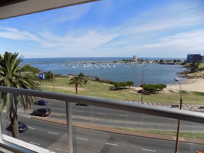 Espectacular Apto Frente Al Puerto Del Buceo.