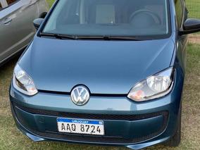 Volkswagen Up! 1.0 Take 2017 Azul Laguna