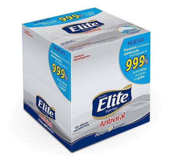 Pañuelos Elite Cubo Premium Antiviral X60