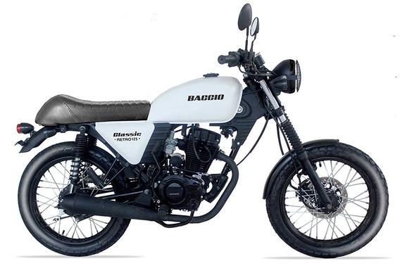 Baccio Classic Retro 125 Nuevo Modelo 36 Cuotas Delcar Motos