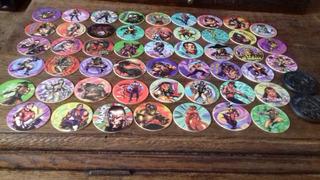 50 Tazos + 2//// Dunkin Caps Originales