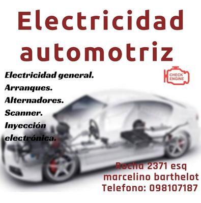 Electricista Automotriz A Domicilio.