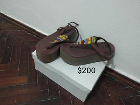 Sandalias Talle 37 Muy Poco Uso