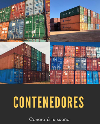 Contenedores Marítimos Usados Muy Buen Estado Desde Usd 1500