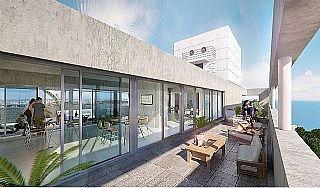 Moderno Y Luminoso Apartamento De 1 Dorm. Con Vista Al Mar!