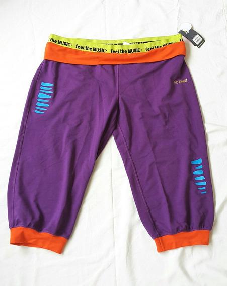 Pantalon Zumba Mujer Nuevo Xxl Violeta Danza Usa Original