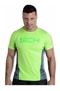 Camiseta Manga Corta Dry Fit Schnell - Modelo Borussia