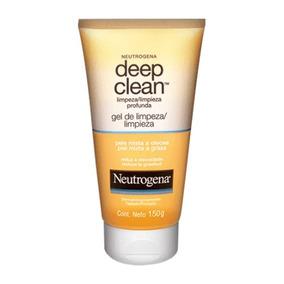 Gel Neutrogena Deep Clean Limpiador Facial 150g