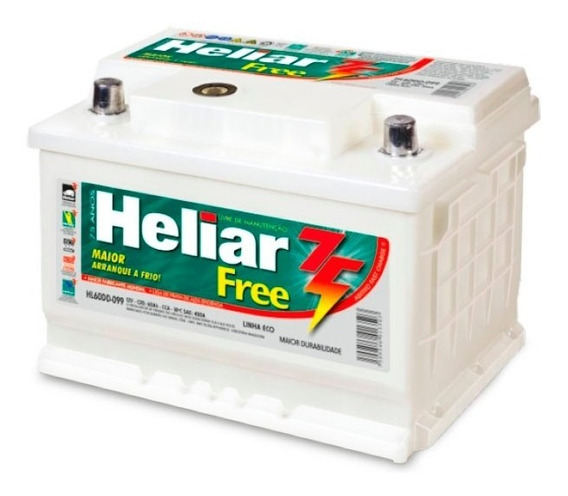 Batería Heliar 12v 120amp. Derecha