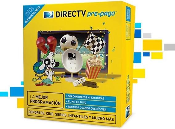 Pack Prepago Directv Con Kit De Instalación - Bigsale