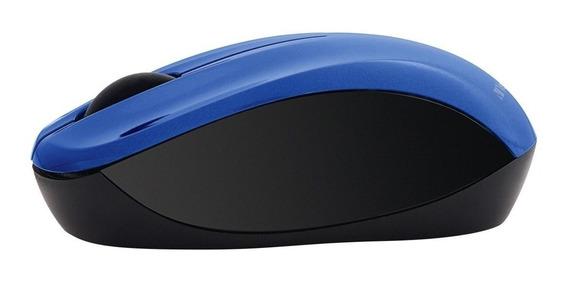 Mouse Inalámbrico Silencioso Blue Led Color Azul Verbatim