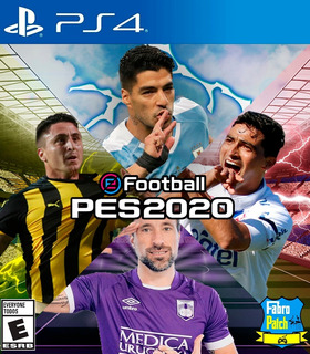 Pes 20 Fútbol Uruguayo Actualizado Ps4 Fabropatch Digital