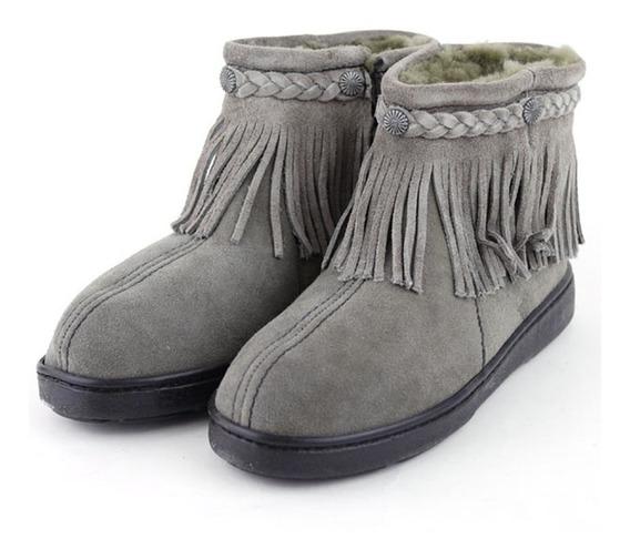 Calzado Minnetonka De Dama Grey - Yalocompro