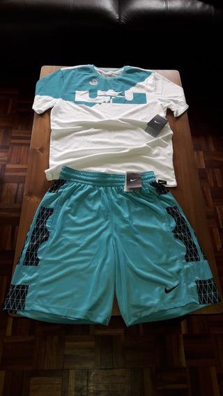 Bermuda Y Remera Nike, Nuevas Y Originales