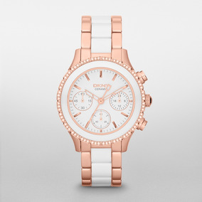 Reloj Dkny Ceramic White Westside