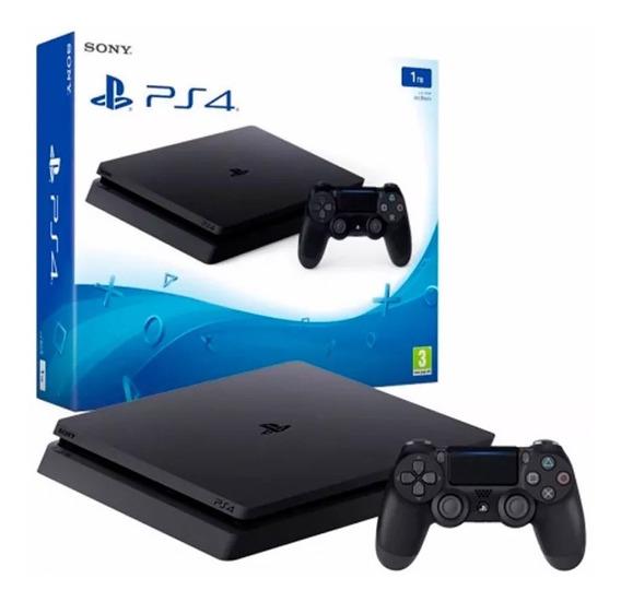 Consola Sony Play Station Ps4 Slim 500 Black