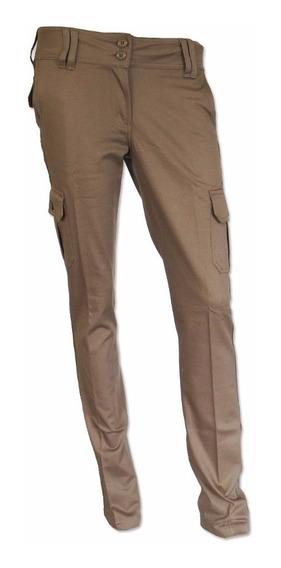 Pantalon Pampero Cargo Urbano D Elast Beige