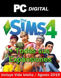Los Sims 4 Pc Español + Todas Sus Expansiones / Digital