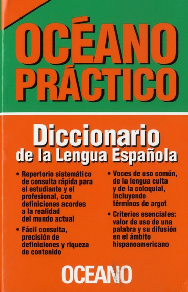 Diccionario Castellano/español Océano Práctico