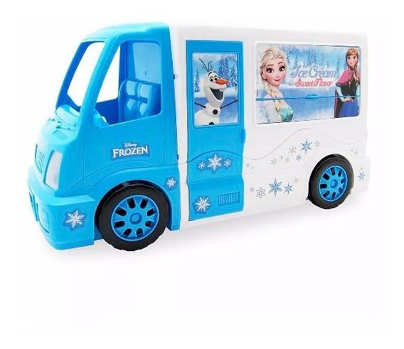Frozen Food Truck Heladería Completa + 25 Accesorios Juego