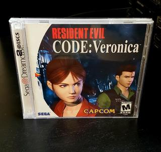 Resident Evil Code Veronica - Juego Original Sega Dreamcast