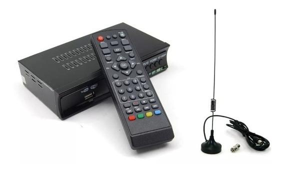 Sintonizador Digital Full Hd + Antena Interior