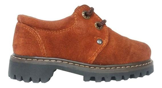 Zapato De Cuero Gamuza Marcel Calzados (cod.88005)