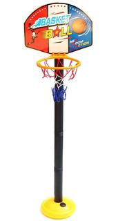 Juego Basquet Basketball Tablero Juguete Aro Con Base
