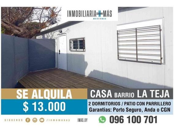Alquiler Casa La Teja Montevideo Inmobiliaria Mas L *