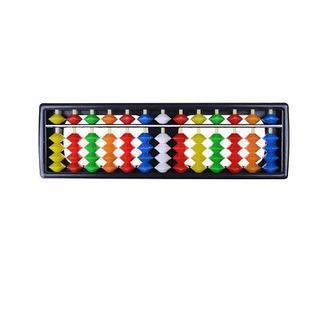 Granos Coloridos Plásticos Portátiles Ábaco Soroban Aritméti