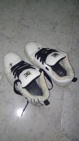Championes Zapatillas Dc Blancas - Poco Uso