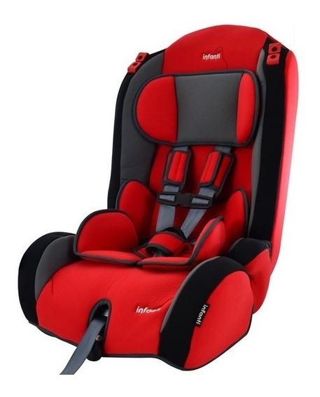 Silla Para Auto Booster Infanti V7 Rojo Reclinable 9 A 36kg