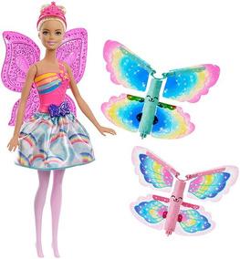 Barbie Fantasy Hada Alas Mágicas Frb08 Tienda Oficial
