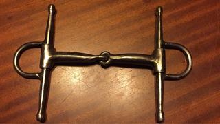 Bridón De Agujas (palillos, Trabas)hierro. Caballos Y Afines