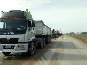 Camion Foton Con Casamba Con Trabajo Y Algo De Financiación
