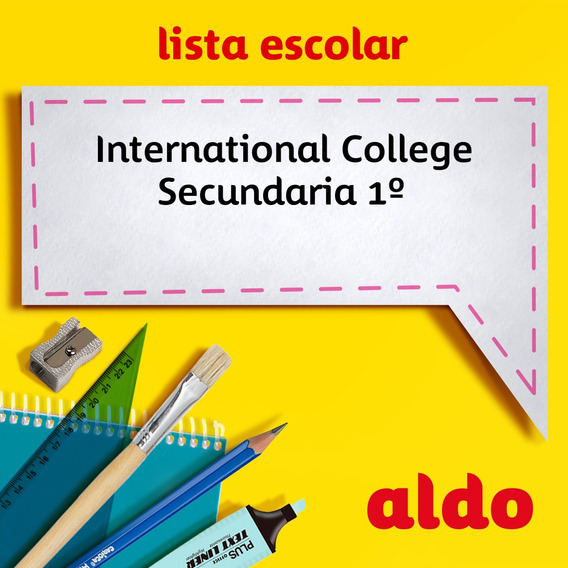Lista Escolar International College Secundaria 1º