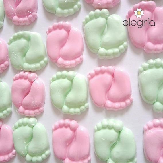 Souvenir Jabon Piecitos En Latita Baby Shower Nacimiento