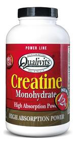Creatina Qualivits Monohydrate 500g - Masa Muscular