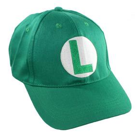 Luigi Mario Bros Hat - Gorra De Béisbol Para Niños - Idea