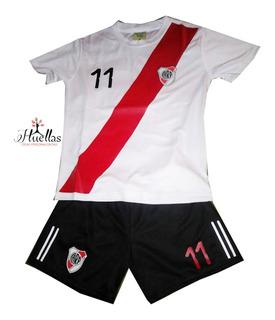 Camiseta De Fútbol Niño De River Se Personaliza A Tu Gusto