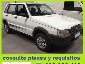 Fiat Uno Way C/aire 2010 100% Financiado Solo $ 5780 Por Mes