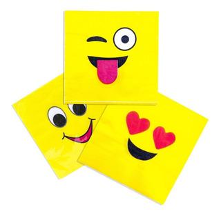 Servilleta Emoji 33cm X 33cm X 20 Unidades - Big Party