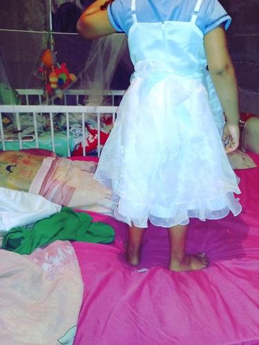 092cc765 Vestido De Niña De 3 O 4 Años Y Zapatos De Bebe De 2 Meses