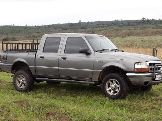 Ford Ranger Xlt 2.5 Diesel Doble Cabina 1998, Gris Oscuro.