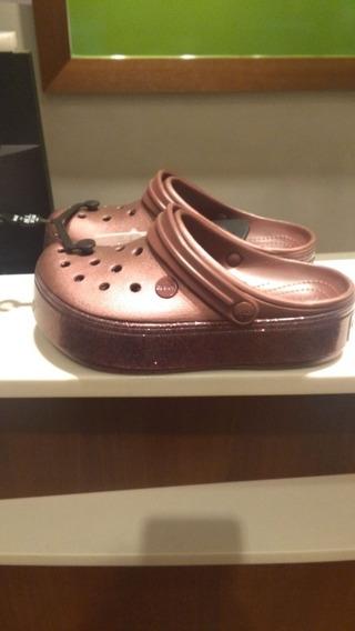 Crocs Plataforma Original Con Factura